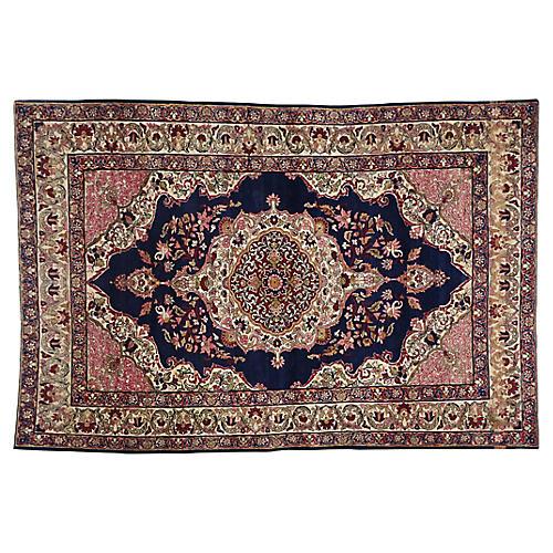 """Antique Kermanshah Rug, 4'7"""" x 6'9"""""""