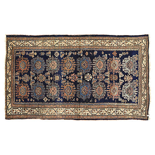"Antique Malayer Rug, 3'10"" x 6'8"""