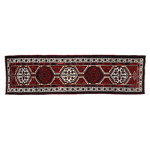 "Persian Heriz Runner, 3'2"" x 11'3"""