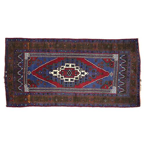 Turkish Konya Taspinar Rug, 5'00 x 9'10