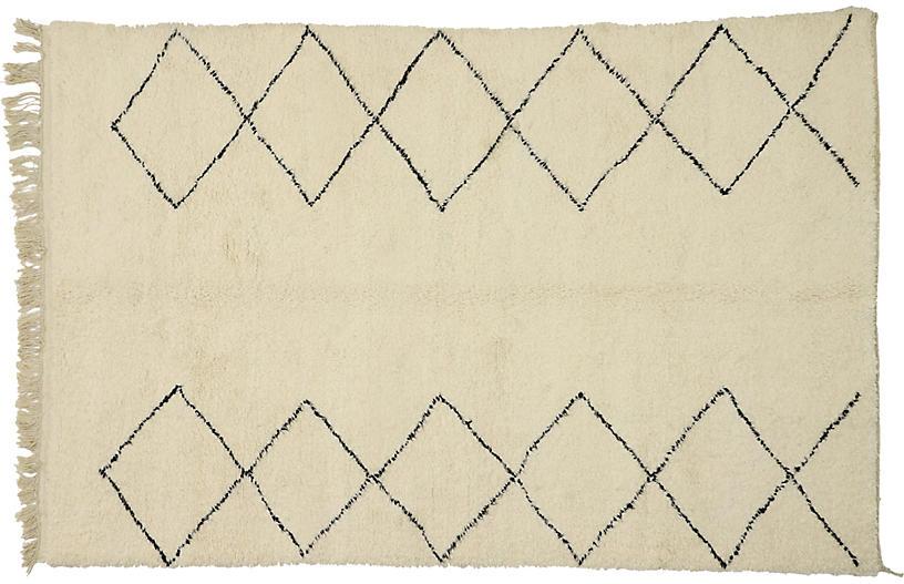 Berber Moroccan Rug, 7'00 x 10'9