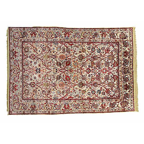Persian Silk Rug, 7' x 10'