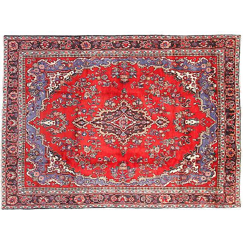 """Persian Rug, 6'6"""" x 9'2"""""""