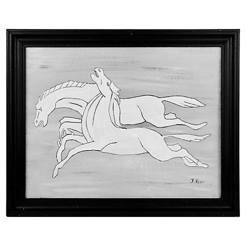 Deco Horses