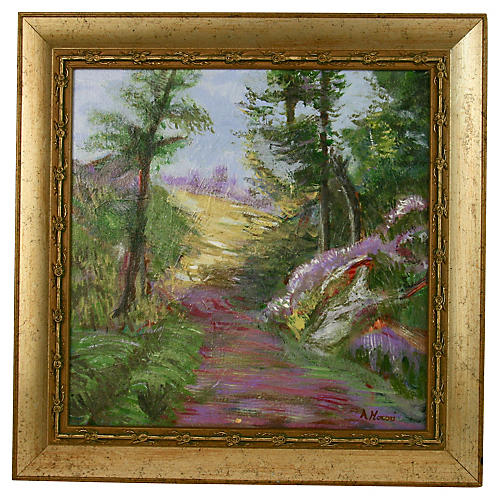 French Garden Path Landscape