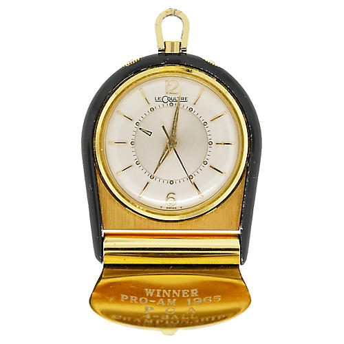 Jaeger-LeCoultre Style Travel Clock
