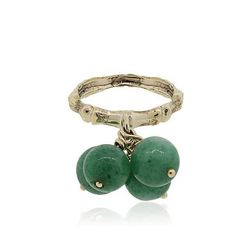 Gold, Jade Ball Ring