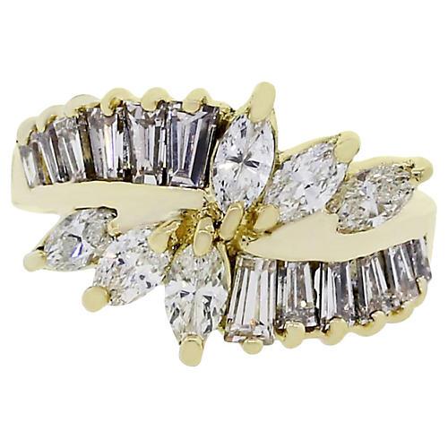 18k Yellow Gold 1.50ctw Diamond Ring