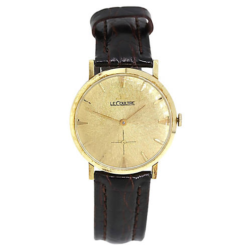 LeCoultre Gold Dial Watch