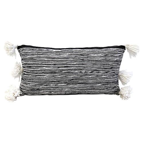Moroccan Handwoven Cotton Pillow