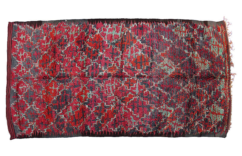 Abstract Talsint Rug, 6'6