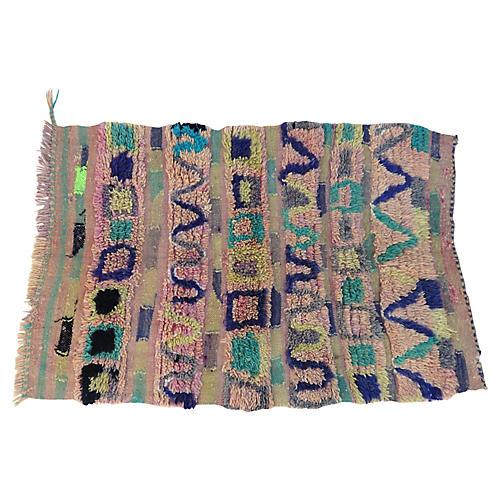 Vintage Boujad Moroccan Rug
