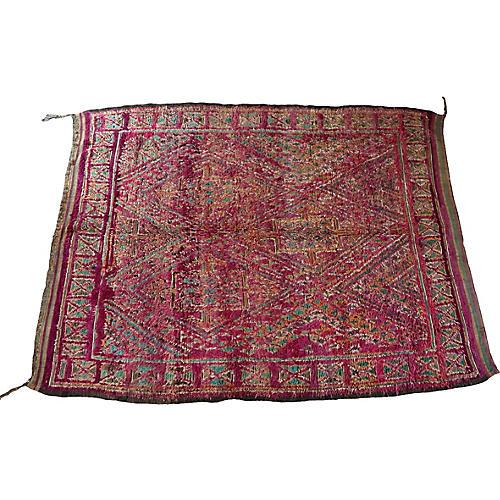 Vintage Beni Mguild Rug