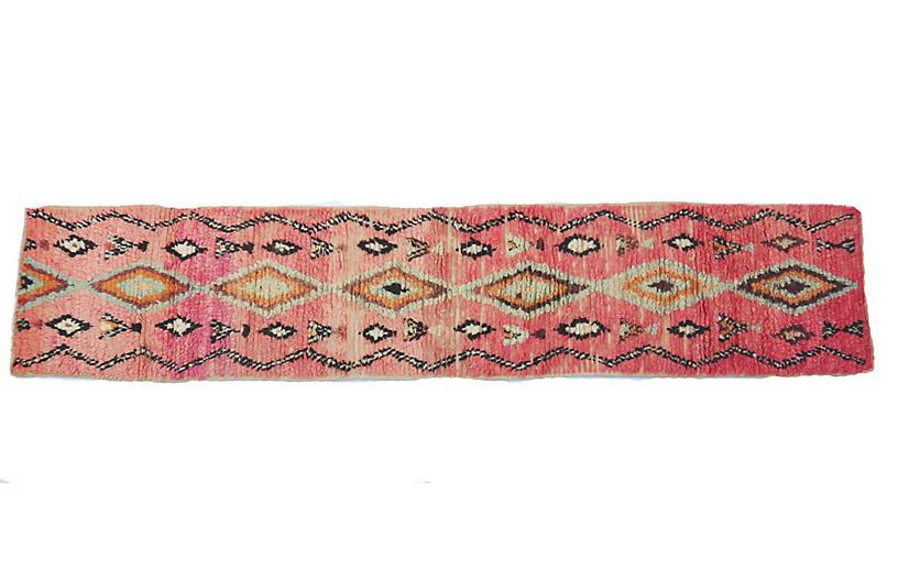 Pink Ombre Vintage Runner