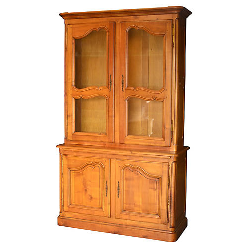 French Cherry Bookcase