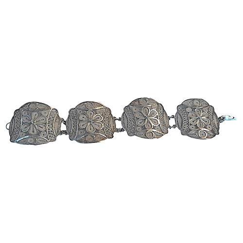 Cannetille Sterling Bracelet