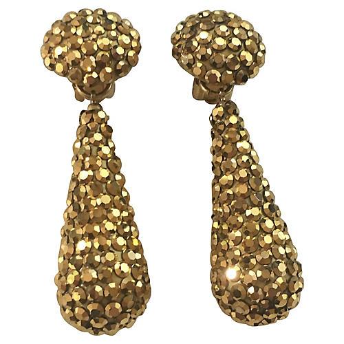 Richard Kerr Crystal Earrings