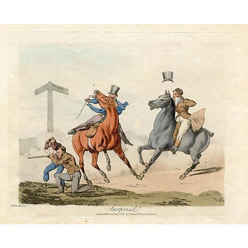 Surpris'd, 1822