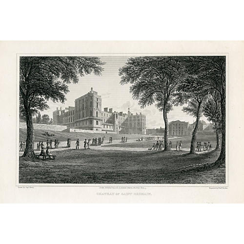 Chateau of Saint Germain, 1822