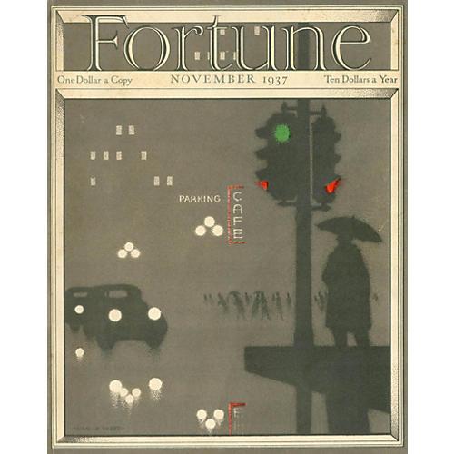 Fortune Magazine Cover, November 1937