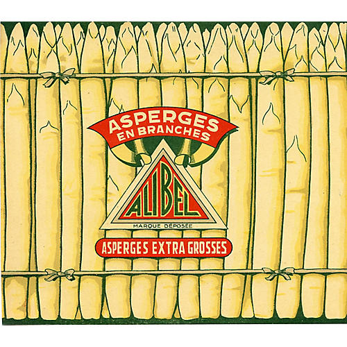 French Asparagus Print