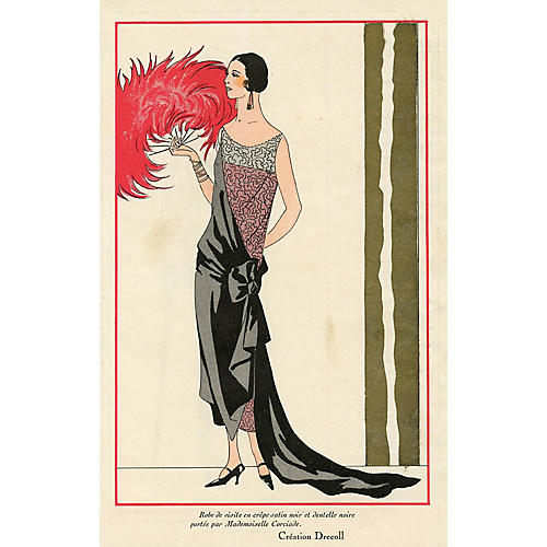 French Evening Gown, 1924