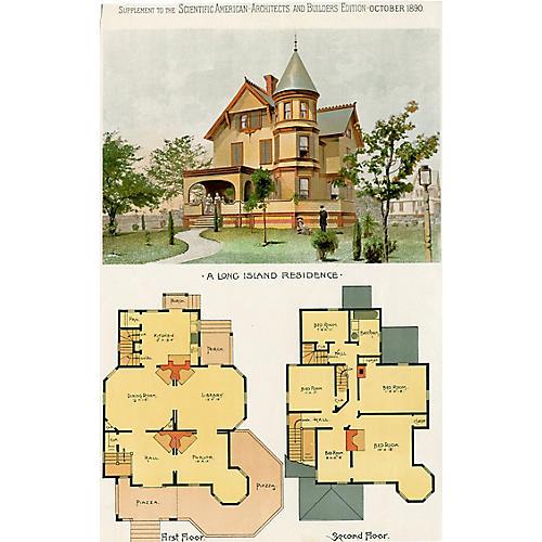 Design for a Long Island Residence, 1890