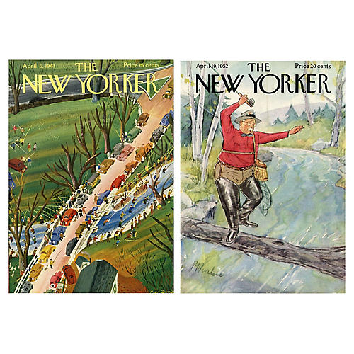 Fishing at The New Yorker, S/2