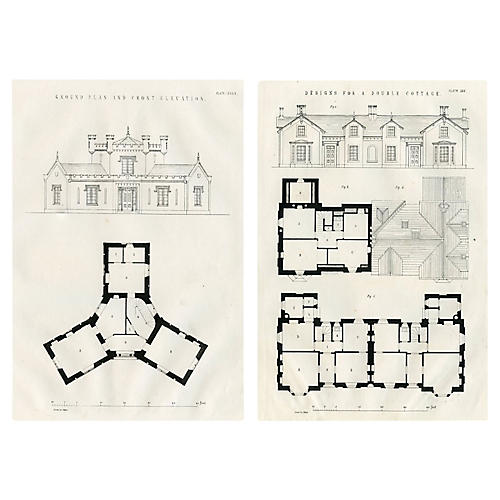 English Rural Architecture, Pair