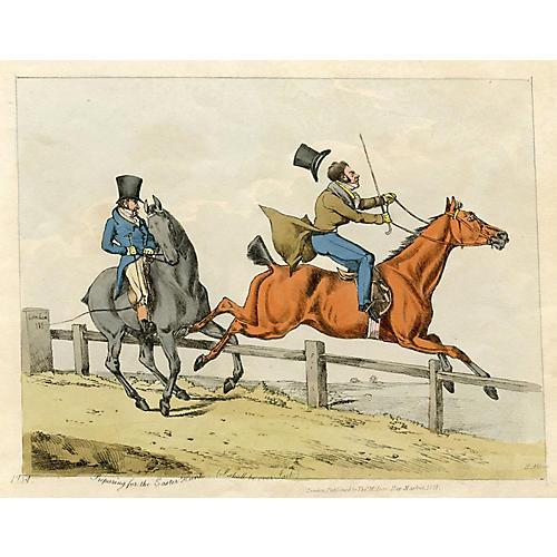 """Preparing for the Easter Hunt"", 1820s"