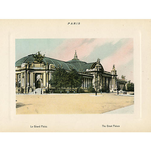 The Great Palace in Paris, 1915