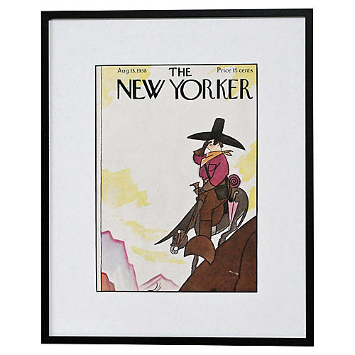 Out West w/ the New Yorker, 1938