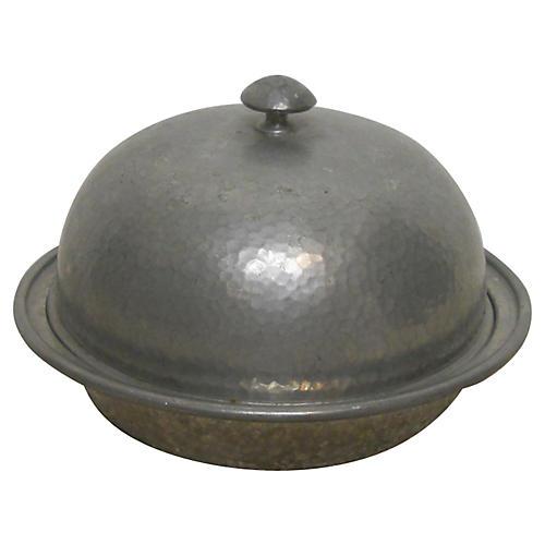 Pewter Bowl w/ Lid