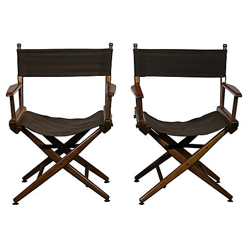 Campaign Chairs, Pair