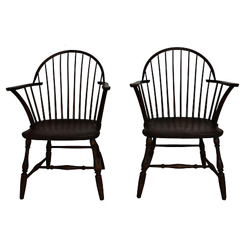 Windsor Chairs, S/2