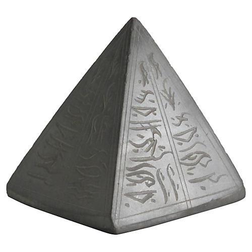 Egyptian Export Stone Pyramid