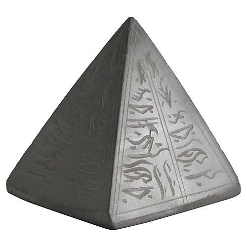 Egyptian Export Stone Pyramid