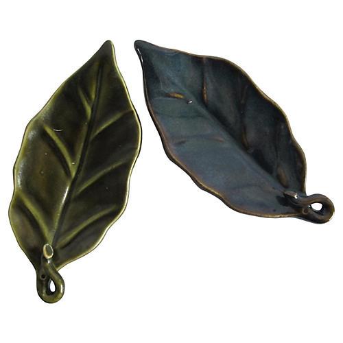 Leaf Catchalls, Pair