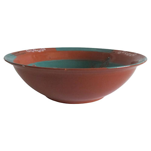 Peruvian Terracotta Pond Bowl