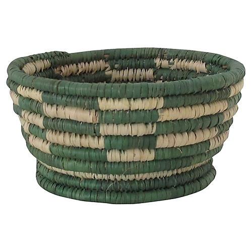 Forest Green Basket