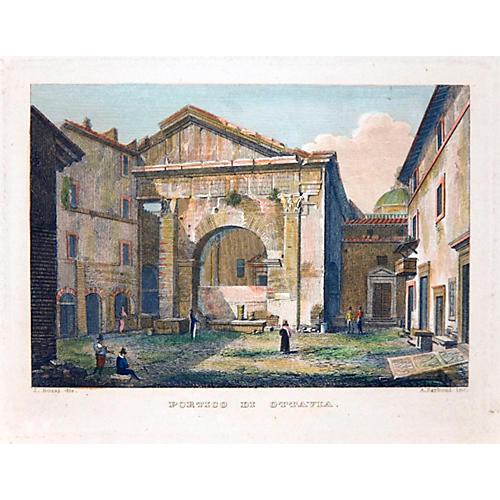 The Portico di Ottavia