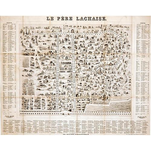 Historic French Cemetery LePère Lachaise