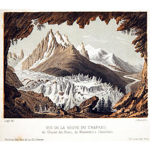 Glacier La Voute du Chapeau