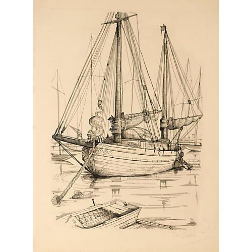 Large Sailboat #1