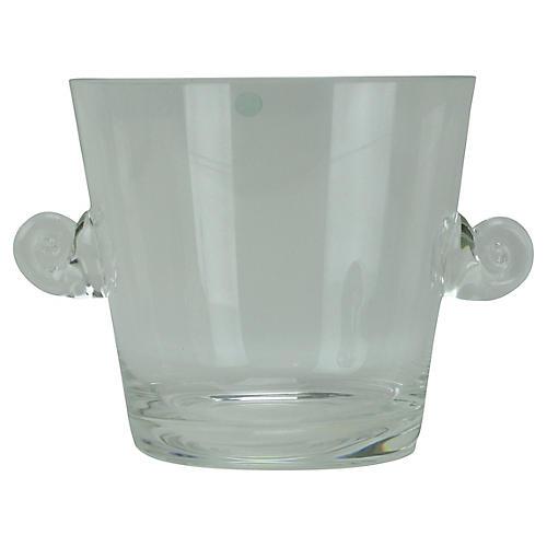 Tiffany & Co. Glass Ice Bucket