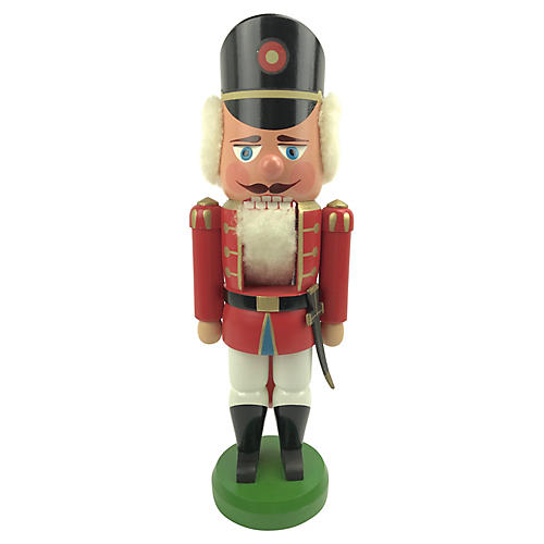 Traditional German Soldier Nutcracker