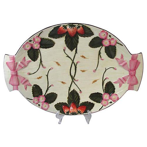 Antique Wedgwood Majolica Wall Platter