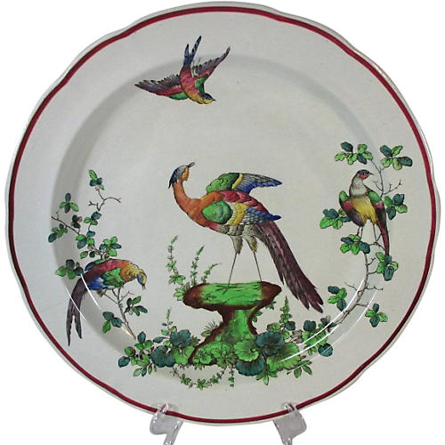 Spode Chelsea Birds Wall Charger