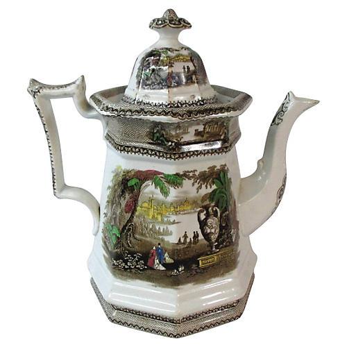 1840 Staffordshire Teapot