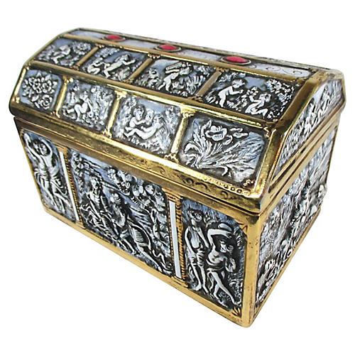Italian Porcelain Treasure Box
